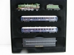 Train Bleu Z gauge 1:220 Great Trains of The World Atlas Edition