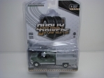 Dodge Ram 3500 Laramie With Ladder Rack 1:64 Greenlight Dually Drivers