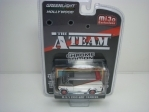 GMC Vandura Silver 1983 A Team Chrome 1:64 Greenlight Hollywood