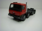 Tatra T815 Terrno 8x8 schassis Red 1:43 Kaden