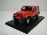 Jeep Wrangler 2017 Unlimited Sahara Red 1:43 Greenlight 86177