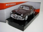 Ford Coupe 1949 Purple 1:24 Motor Max