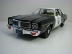 Dodge Coronet California Highway Patrol 1975 1:18 Greenlight