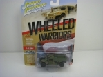 Humvee HMMWV M998 Cargo Troop Carrier 1:64 Wheeled Warriors Johny Lightning