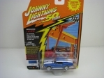 Custom Camaro Deep metallic Blue 1:64 50 Years Johny Lightning