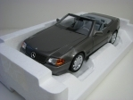 Mercedes-Benz 500 SL 1989 Grey metallic 1:18 Norev