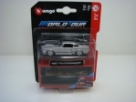 Ford Mustang GT 1967 Silver 1:64 World Tour Bburago