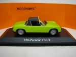 VW-Porsche 914/4 1972 Green 1:43 Maxichamps