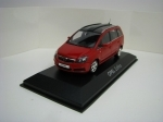 Opel Zafira Red 1:43 Minichamps