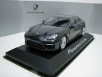Porsche Panamera turbo G2 2016 Grey metallic 1:43 Herpa