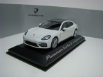 Porsche Panamera turbo S e-hybrid Executive G2 2016 White 1:43 Herpa