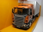 Scania R470 tahač s návěsem Scania 1:32 Welly