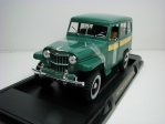 Jeep Willys Station Wagon 1955 Green 1:18 Lucky Die Cast