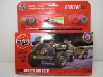 Jeep Willys MB 1:72 starter set Airfix