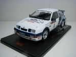 Ford Sierra RS Cosworth No.4 Blomqist Rally 1000 lakes 1988 1:18 Ixo Models