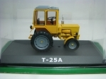 Traktor T-25A Yellow 1:43 Atlas