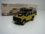 Land Rover Defender 110 Camel Trophy 1989 Mini GT 1:64 TSM