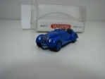 BMW 328 Cabriolet 1937 Blue 1:87 Wiking 082803