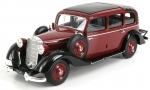 Mercedes-Benz 260D Pullman Landaulet Closed 1936 red 1:18 Triple 9 Collection