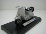 Vespa 125CC Grey 1:18 Welly