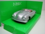 Porsche 356 No.1 Roadster silver 1:24 Welly