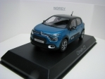 Citroen C3 2020 Blue/Black roof 1:43 Norev