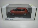 Škoda Fabia II 2006 Orange 1:43 Abrex Junior