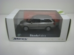 Škoda Fabia II Facelift 2010 Combi Grey 1:43 Abrex Junior