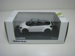 Škoda Fabia RS2000 Cabrio concept Car white 1:43 Abrex Junior