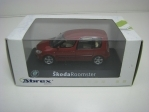 Škoda Roomster Red flamengo 1:43 Abrex