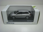 Škoda Rapid Spaceback Silver Briliant Metallic 1:43 Abrex Junior