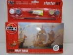 Plachetnice Mary Rose 1:400 starter Set Airfix A55114