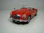 MGA MKI A 1500 open 1957 Red 1:18 Triple 9 Collection