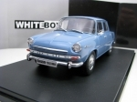 Škoda 1000MB Greyblue 1:24 White Box WB124054