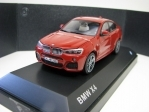 BMW X4 F26 Melbourne Red metallic 1:43 Herpa