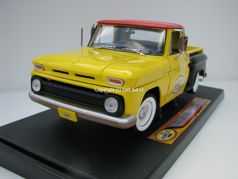 Chevrolet C-10 Stepside 1965 Penzoil 1:18 Greenlight