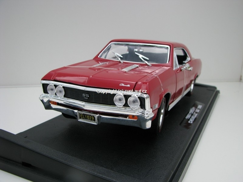 Chevrolet Chevelle SS 396 1967 red 1:18 Motor Max