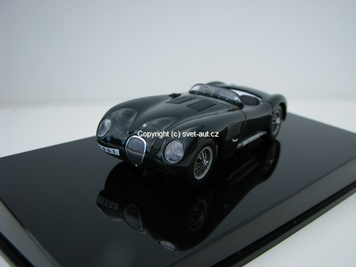 Jaguar C-Type Green 1:43 Autoart
