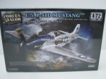 P-51D Mustang Great Britain 1945 Kit 1:72 Unimax