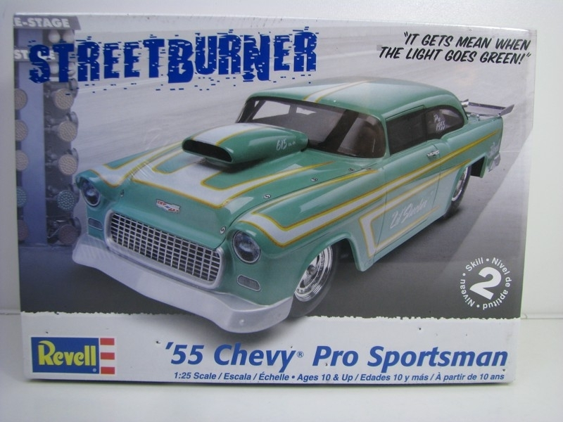 Chevrolet Pro Sportsman 1955 kit 1:25 Revell 852046