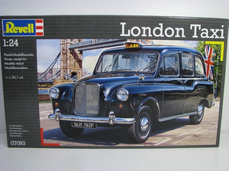 London Taxi Austin FX4 Kit 1:24 Revell 7093