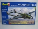 Letadlo de Havilland Vampire FB.5 Kit 1:72 Revell 03993