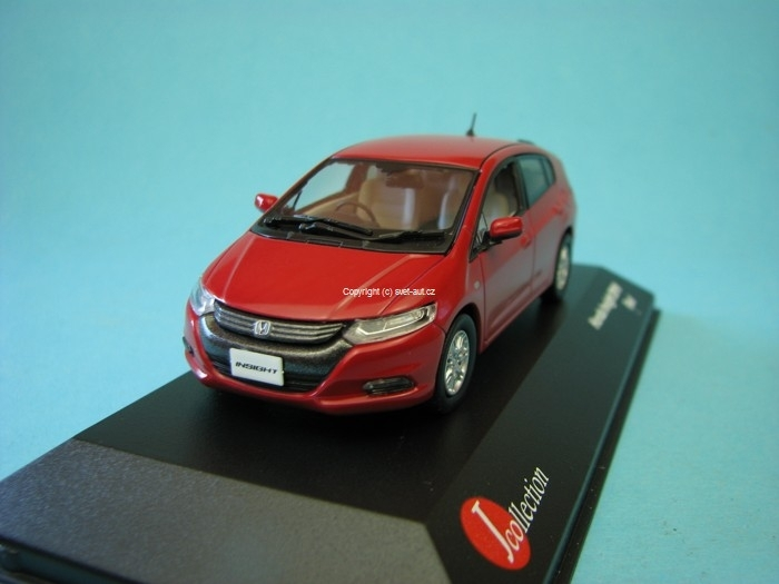 Honda Insight 2010 red 1:43 J-collection