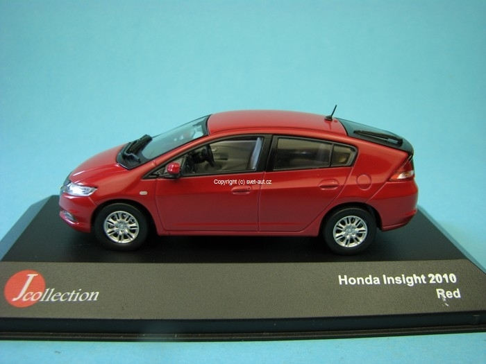 Honda Insight 2010 red 1:43 Jcolections Models