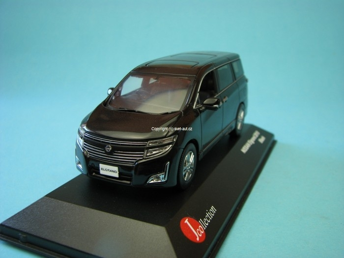Nissan Elgrand New 2010 black 1:43 J-collection