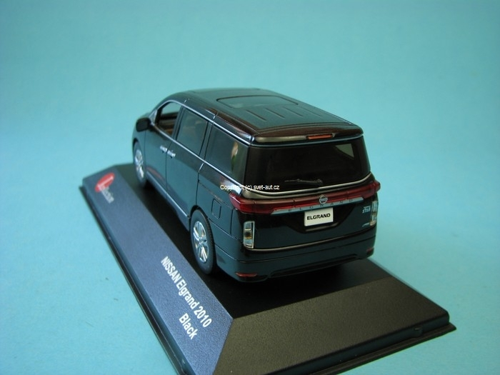 Nissan Elgrand New 2010 black 1:43 Jcolections Models
