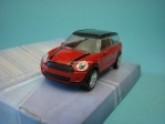 Mini Clubman Red Black 1:43 Mondo Motors