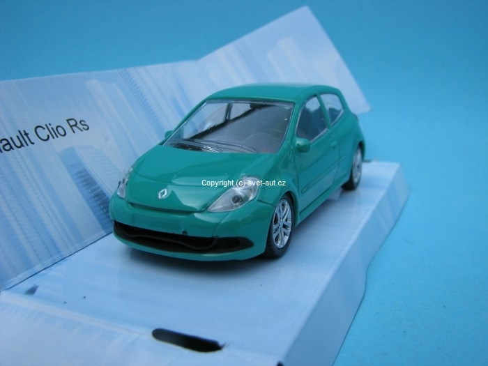 Renault Clio RS green 1:43 Mondo Motors