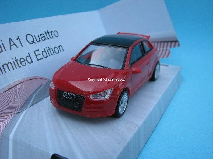 Audi A1 Quattro red 1:43 Mondo Motors