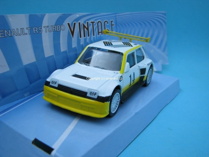 Renault R5 Turbo white No.14 1:43 Mondo Motors